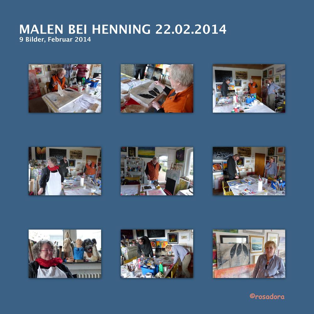 MALEN BEI HENNING 22.02